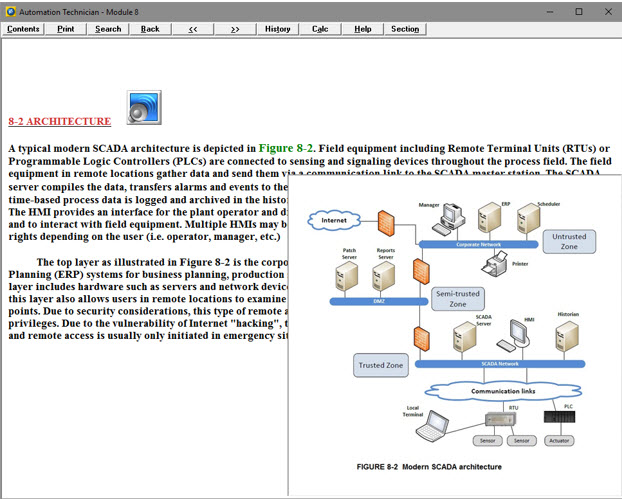 Computer Based Presentation of Theory and Application