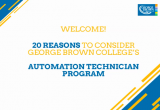 slide welcoming attendees to the automation technician webinar